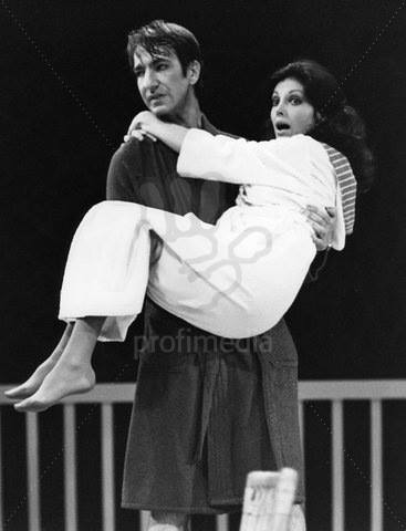 RIP Alan Rickman. Amazing actor, director & human being.  (photos: The Philadelphia Story at Oxford Playhouse, 1981) https://t.co/XujYmf0g8F