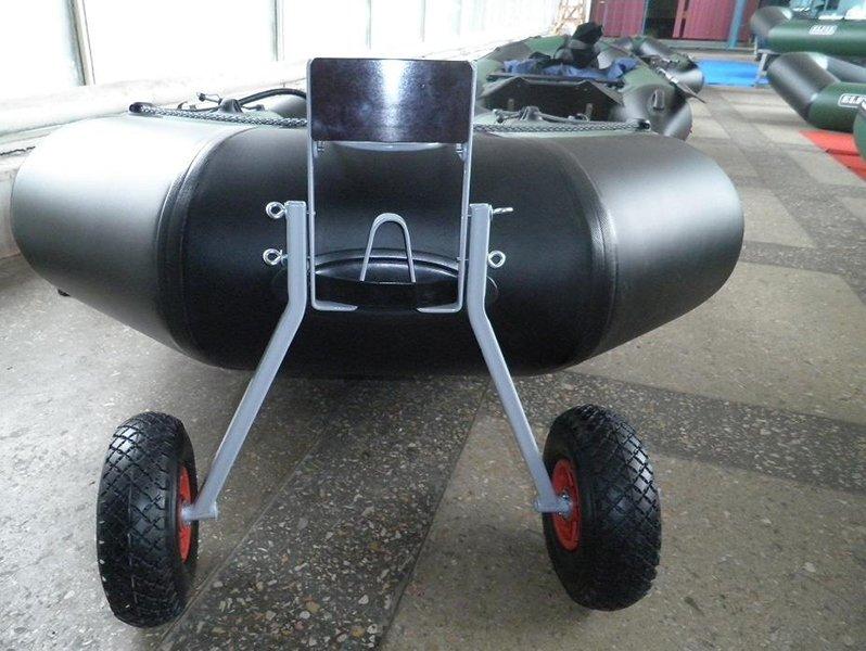 колеса для лодки с навесным транцем своими руками