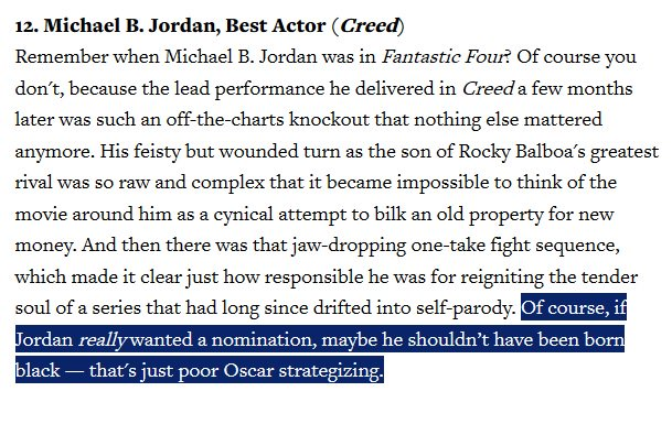 "This was the best line in ""Rolling Stone""'s Oscar Snubs piece.   *flames* https://t.co/bETfXDfHil https://t.co/5kANxMgsDZ"