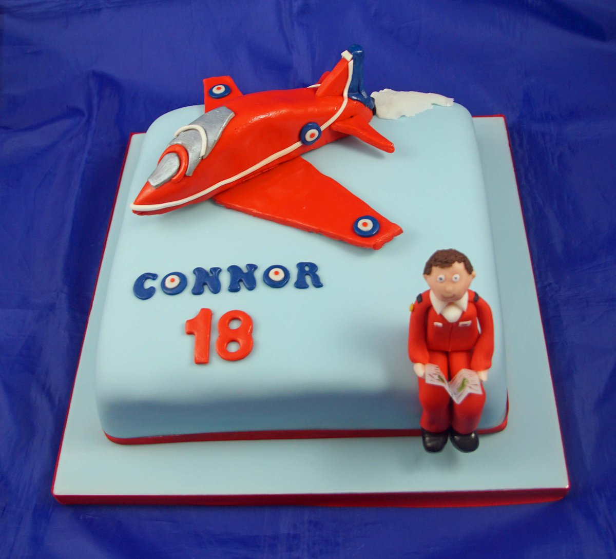 Nicola Young On Twitter Red Arrows Birthday Cake Cake