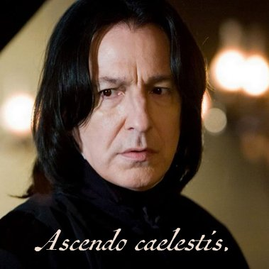 Safe journeys, Professor Snape. #RIPAlanRickman https://t.co/KhVNLCF8rN