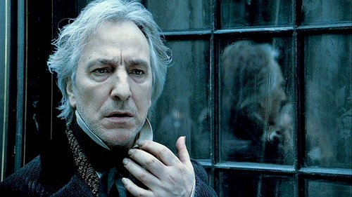 He didn't do much horror but his characters were often horrifying. We are devastated by the loss of Alan Rickman. https://t.co/wa00dnDYxK