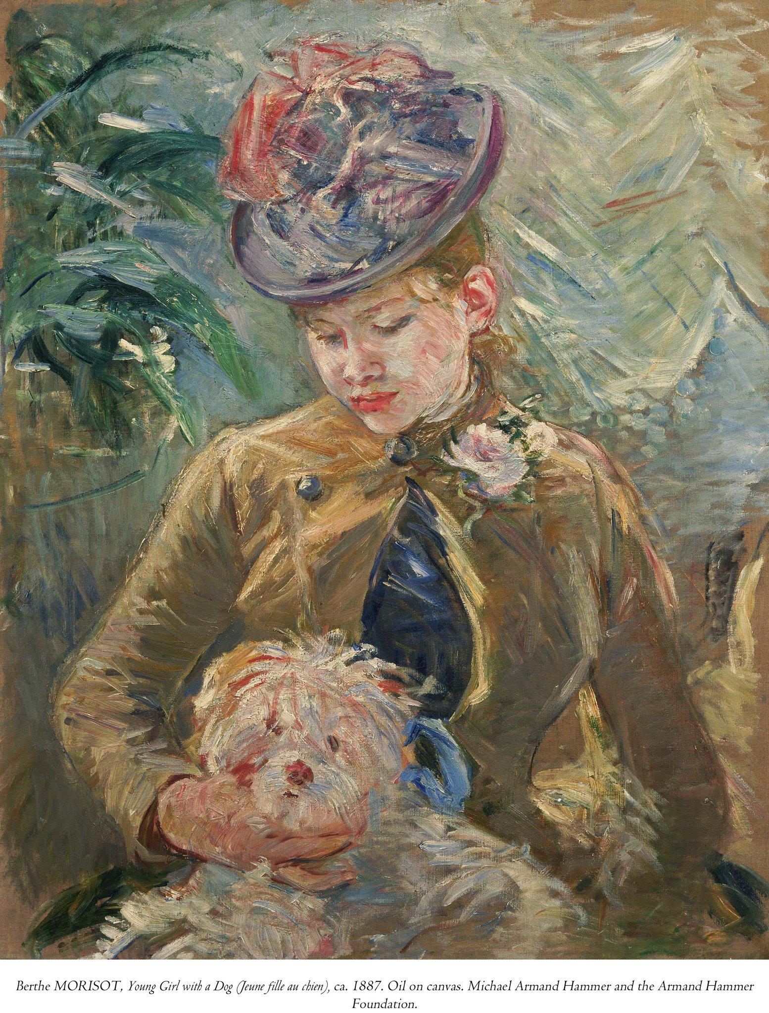 "SB Museum of Art on Twitter: ""Happy Birthday to Berthe Morisot, born on  this day, 1841. #OnviewFebruary4 #SantaBarbara #75SBMA  https://t.co/BiSm183d6K"""