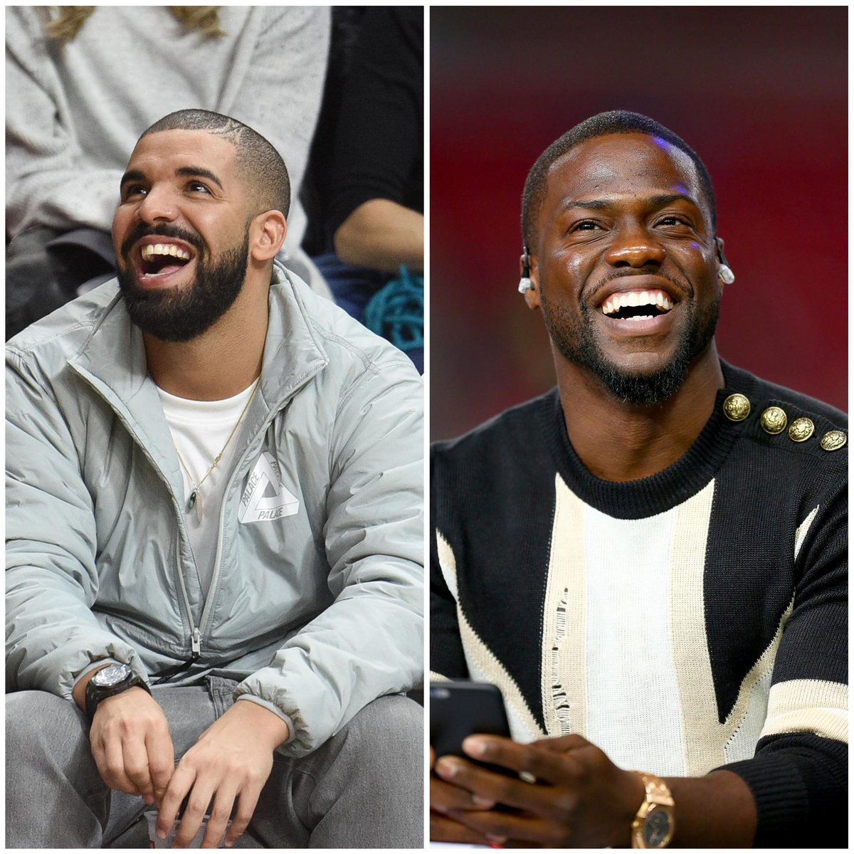 Drake and Kevin Hart will be the coaches for the Canada and USA teams at the NBA All-Star Celebrity Game.
