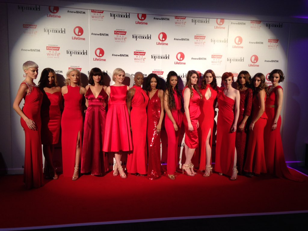 Our finalists glammed up and ready for tonight's launch