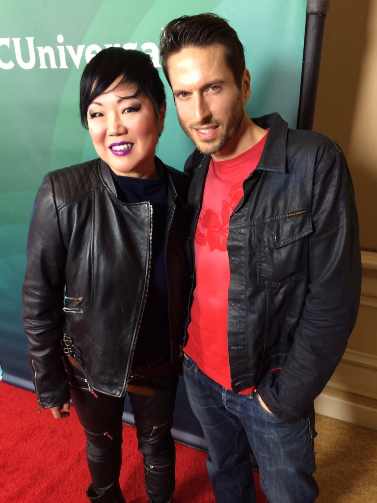 Me and @margaretcho at the #TCAs2016 for @e_FashionPolice https://t.co/PvNQquXfNB