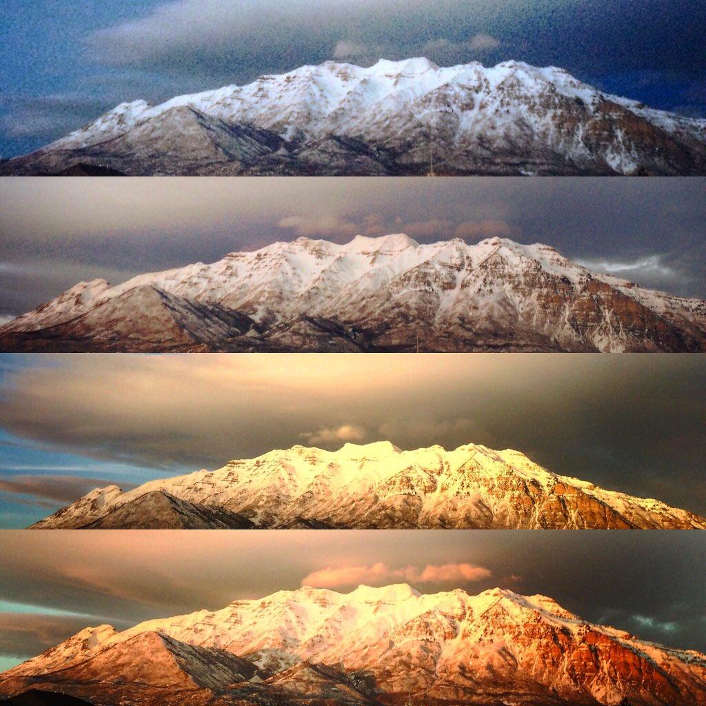 Tweet from sofiaaugustineadams (@sofiaaadams): Mountain time #timelapse #timpanogos