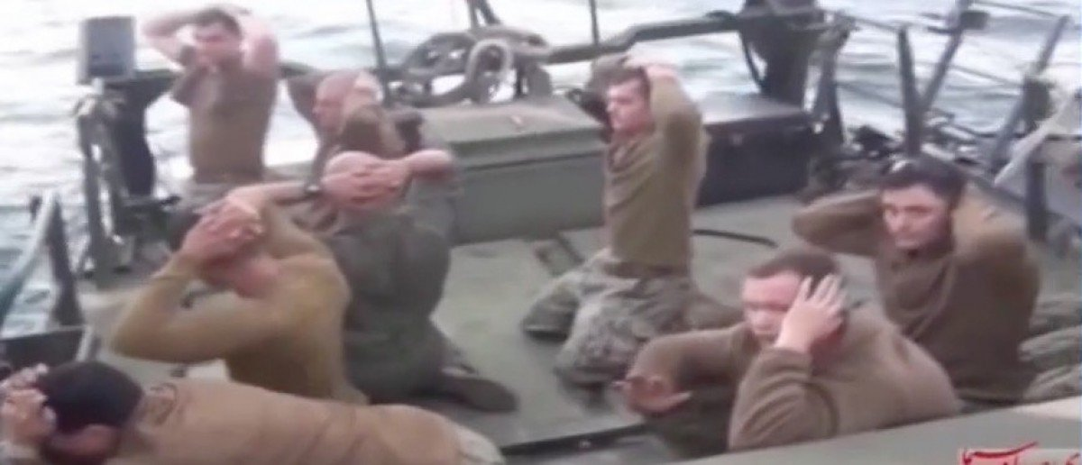 Iranian officials openly bragging about US Navy prisoners