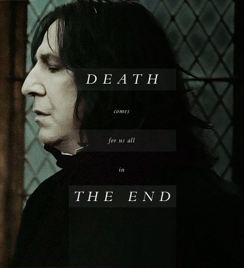 Amy gibbins amyyylouise93 twitter he greeted death as an old friend and went with him gladly and as equals they departed this life alanrickmanrippicitterl7mfrro6p8 m4hsunfo