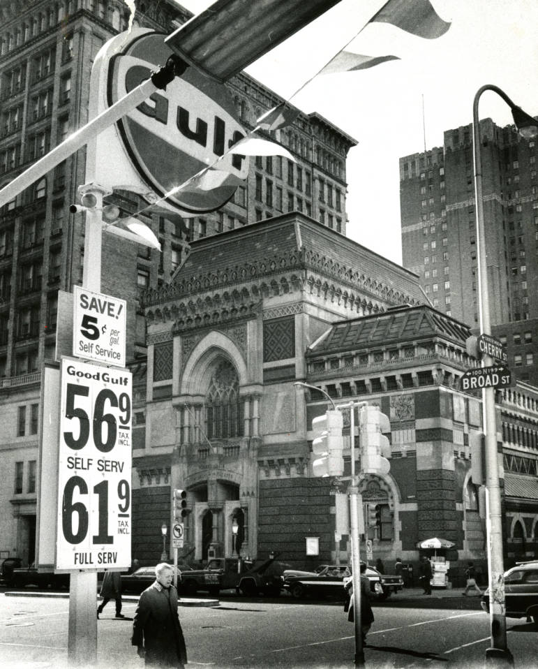"""Gulf Oil On Twitter: """"1977 Gas Prices Listed On A Sign"""