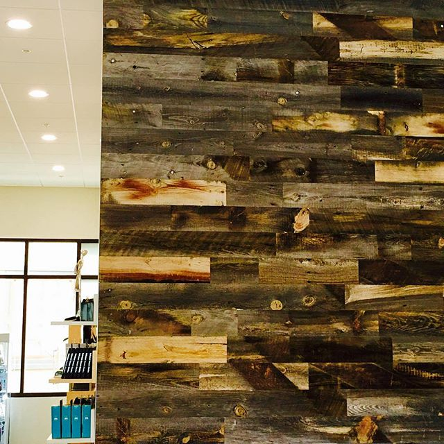 real wood decor stikwood is a peel and stick real wood decor rethink your walls #Stikwood #Reclaimed Weathered #Wood @lookandsee.danville #USA #DIY http:-- stikwood.com pic.twitter.com-gv1Is2DJPm