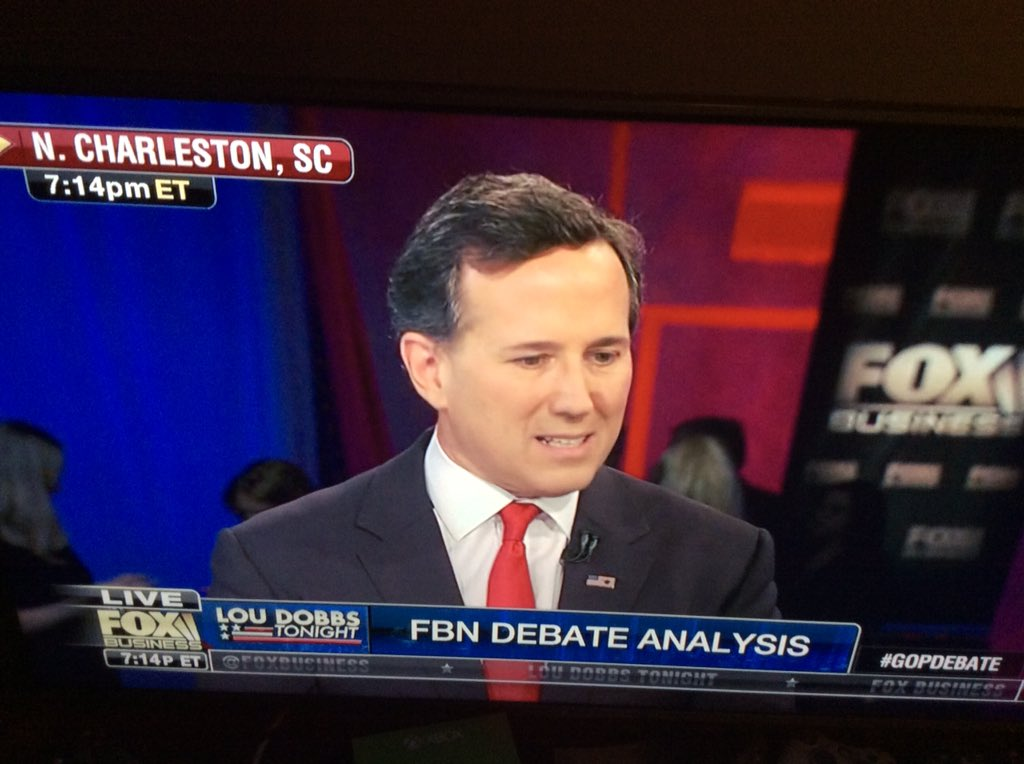 .@RickSantorum you did great sir.. Plan worked..  @loudobbsnews got it.. Go Iowa.. The time to put God back in WH https://t.co/5xO4BytZNX