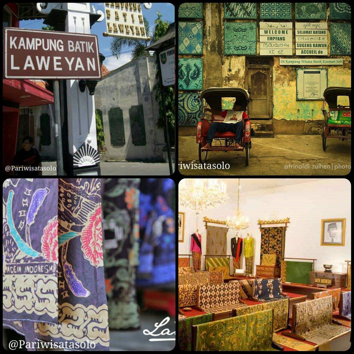 Wisata Solo در توییتر Kampung Batik Laweyan Adalah Kawasan Sentra Batik Di Kota Solo Yang Sudah Ada Sejak Zaman Tahun 1546 Https T Co T1bpwxkjxa