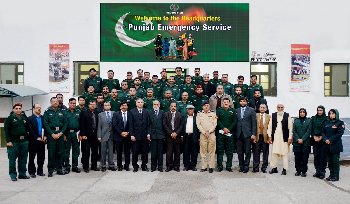 DEOs Consultative Workshop on Firefighting & Modern Trends held at Rescue  1122 Headquarters.pic.twitter.com/rPKWzWL2lN