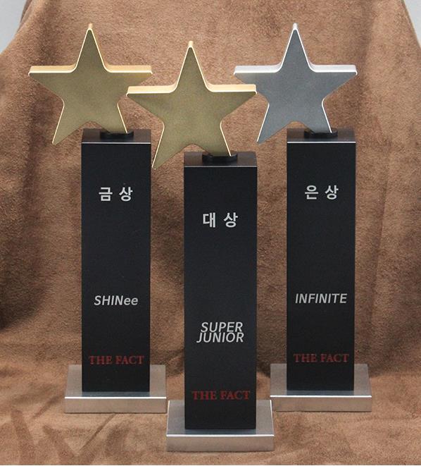 [INFO] 160115 Super Junior won Daesang Award at 'The Fact 2015 Click Starwars Awards' (Cr:@topaz_1025) https://t.co/Y2CjHrP5Hs