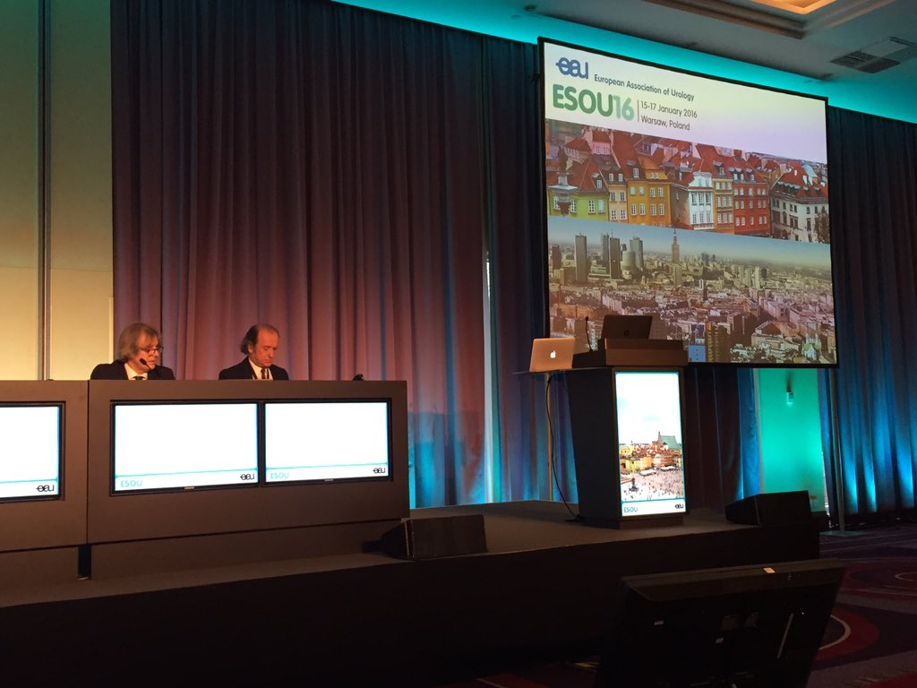 Welcome to our live report from #esou16 in Warsaw! All the latest on oncological #urology. Have a good meeting! https://t.co/ZnIV8KgegU