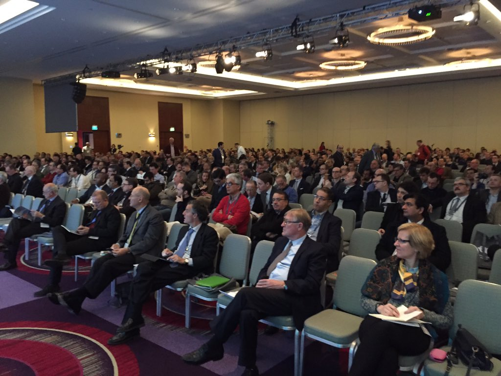 Close to 1200 participants at #esou16 https://t.co/ipK54Nhlvf