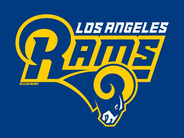 image gallery la rams logo