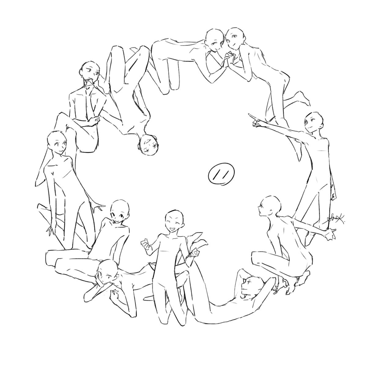 Twoucan 環状構図 の注目ツイート イラスト マンガ コスプレ モデル
