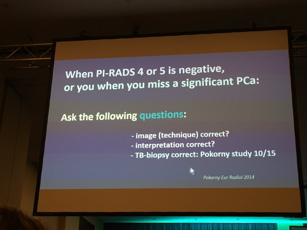 Great remarks by Prof Barentsz for MRI-guided prostate bx-2 #ESOU16 https://t.co/TeystzT7Az