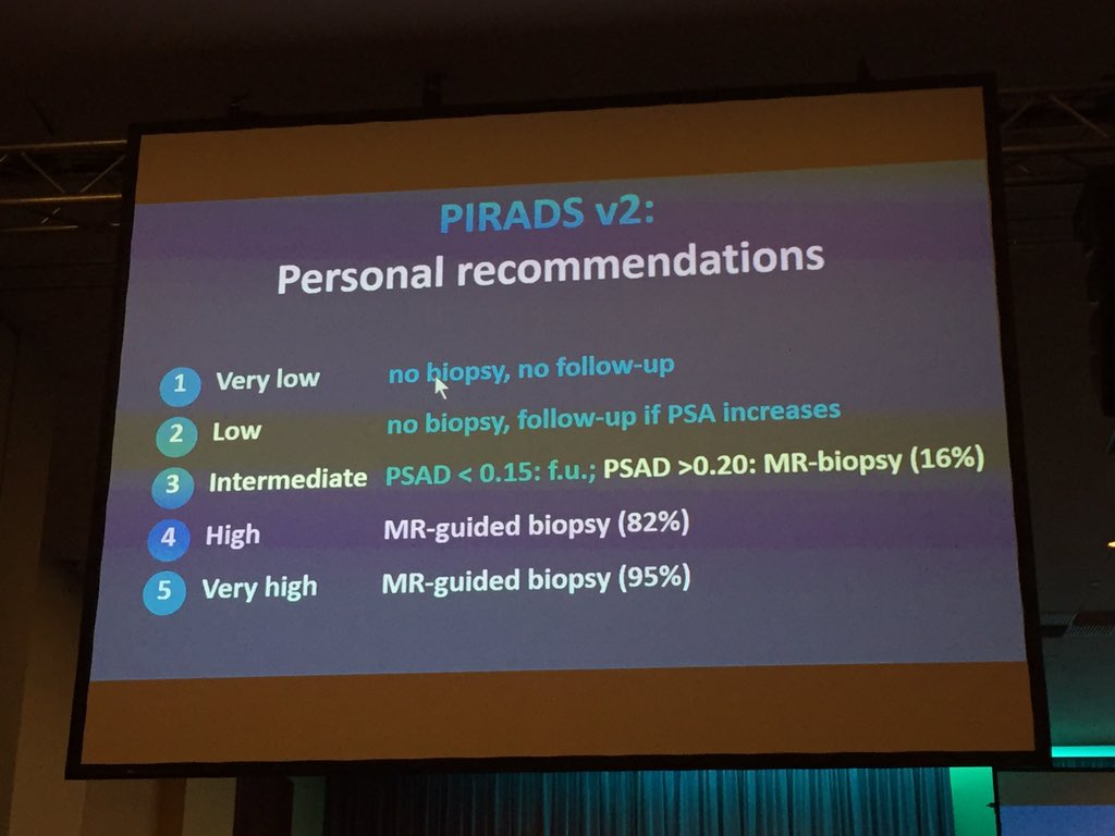 Great remarks by Prof Barentsz for MRI-guided prostate bx -1 #ESOU16 https://t.co/i0eGs7HLvh