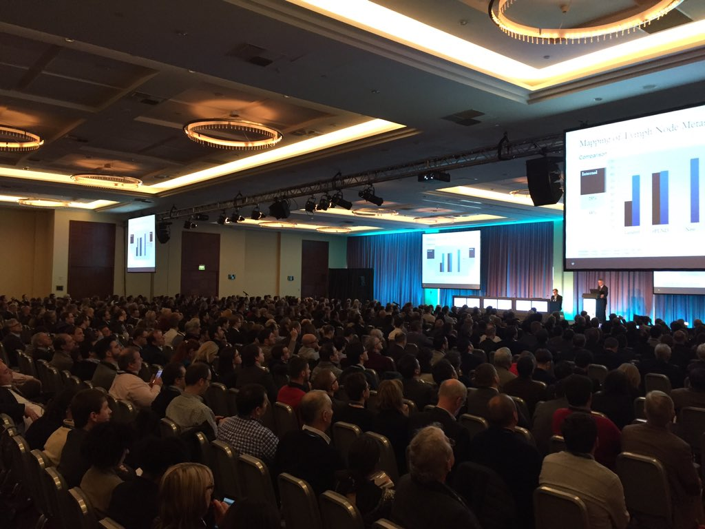 It's clear that #ESOU16 is one of out biggest, if not THE biggest Section Meeting https://t.co/46b9PA3gHJ