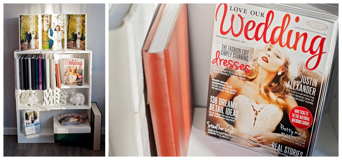 Got to love @LoveOurWedMag new issue available in the studio now! :) #freecopy #bridetobe #wedding #barnsleyisbrill https://t.co/xpEnO7F82v