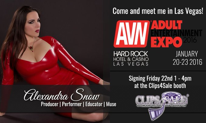 See me next week at @AEexpo on Friday, Jan 22nd from 1-4PM at the @clips4sale booth! #AVNshow #Vegas