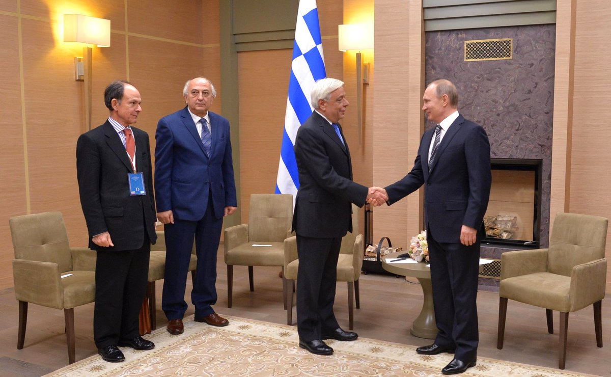 Thumbnail for Visit of President of Greece to Russia