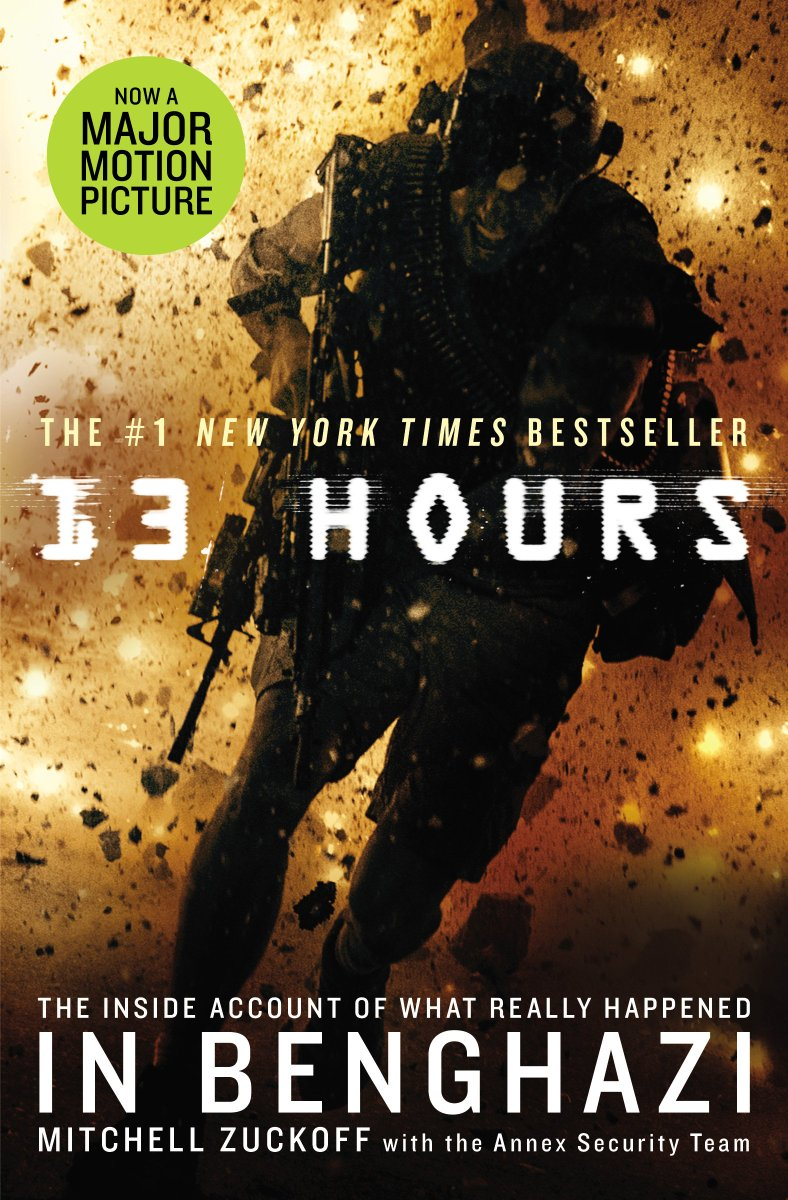 The @13hours movie is in theaters TODAY & we're giving away a copy of the book! RT to win #giveaway #13Hours https://t.co/Chcy2WZuT6