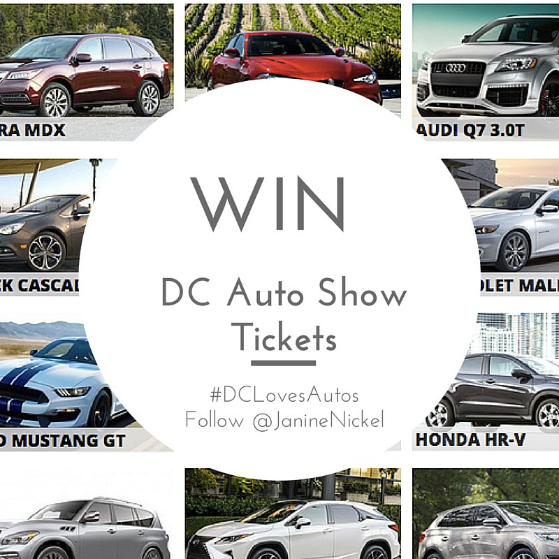 Who loves cars?? RT to win 2 tickets DCAutoShow Jan 22-31! $24 value, 1winner announced 1/20 #DCLovesAutos https://t.co/sELgR0nSTg