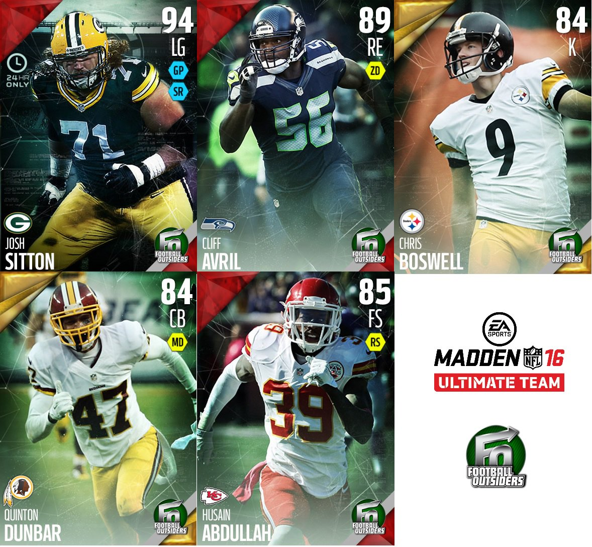 Here's a look at new Football Outsiders players available in @EASPORTS_MUT this morning! https://t.co/e9m6Ou89Ex