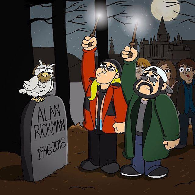 Kevin Smith just posted this on his FB page. #RIPAlanRickman https://t.co/ouIVoow0K7