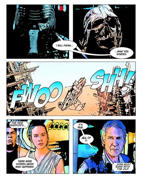 So, this is kinda nuts: largely automated software converts video to comics. TFA trailer: https://t.co/lwayNUPCyB https://t.co/WUpUtx6apg