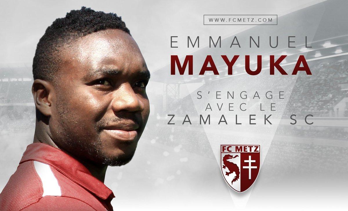 #Transfert L'attaquant @emmanuelmayuka est transféré au @ZSCOfficial ! Plus d'infos : https://t.co/x1KvzNOJKk