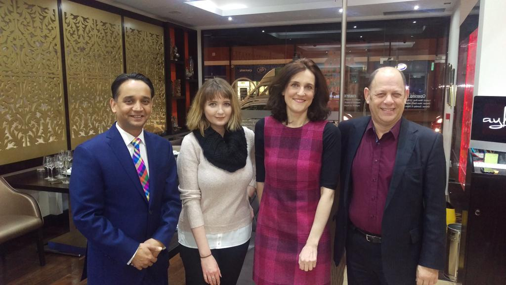 With Theresa Villiers MP and @JadeMadgwick @Bayleaf_rest #Whetstone for @BarnetTV01 RT https://t.co/YkBOWFLgvG