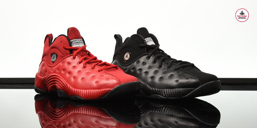 420182b5f41b ... store a look at two foot locker exclusive jordan jumpman team 2 retros  available in stores