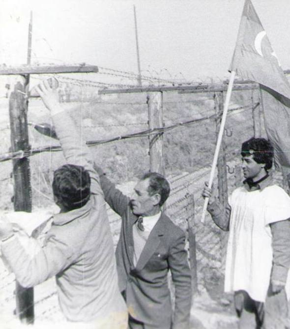 Советско-иранская граница, 1989-90 гг.