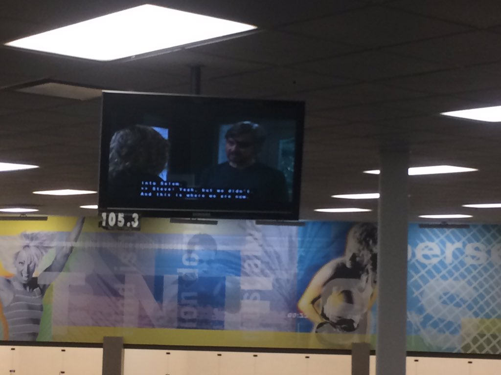 I don't watch soap operas but glad to know when it's on at the gym there is still a guy with an eyepatch on the show https://t.co/ExmPcev8Ap