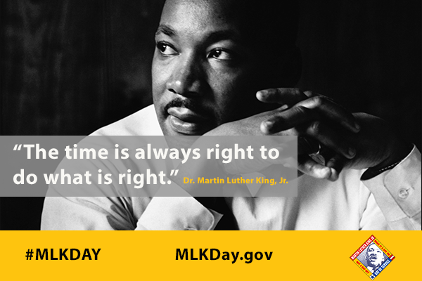 """If I cannot do great things, I can do small things in a great way."" #MLKDay https://t.co/exI6TKxkcx https://t.co/XgwcVnSQJD"