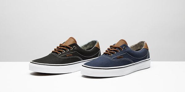 131dfa949b earn your stripes with the latest men s era pack featuring leather accents  from vans