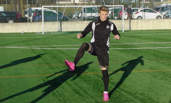 Ezgjan Alioski at training; photo: Lugano