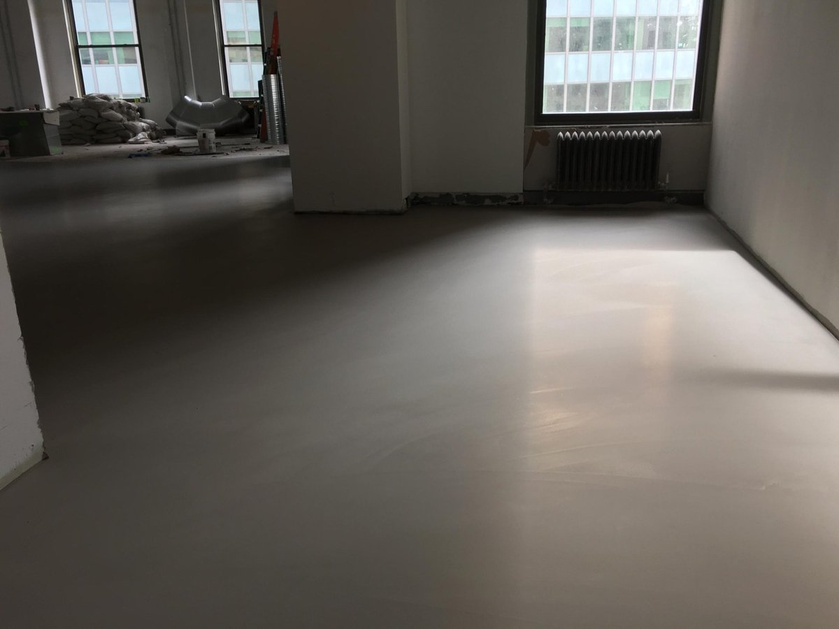 Self Leveling Finishes : Cmp floor prep on twitter quot self leveling