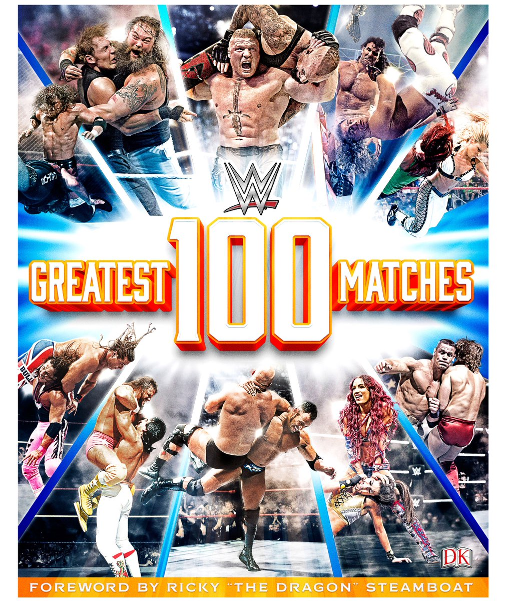 Exicited to reveal the cover of WWE #100GreatestMatches Tell us what you think!  https://t.co/seGlHi24F5 https://t.co/u3bOmnM4QB