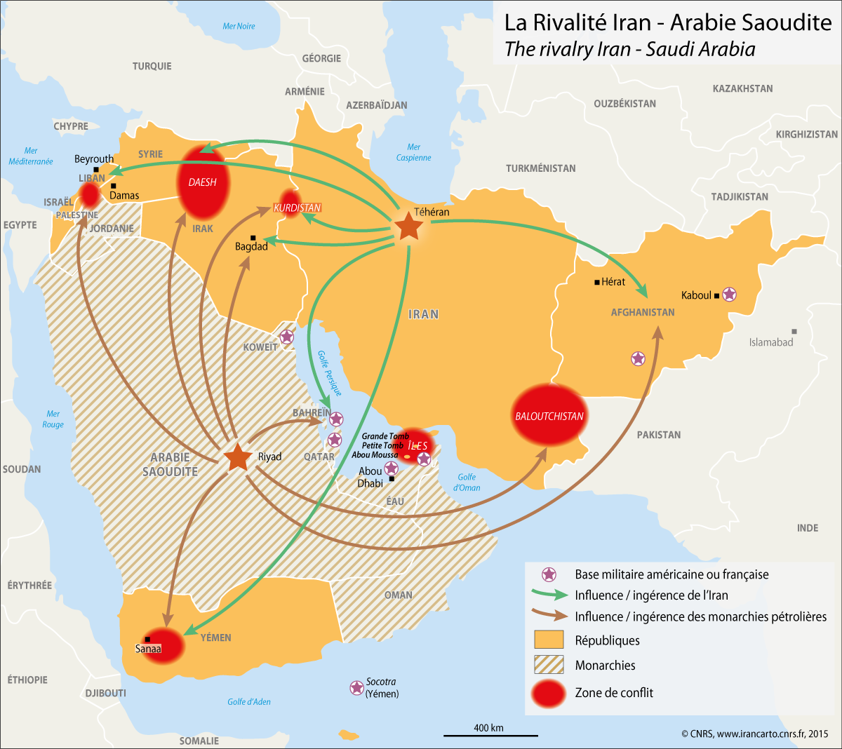 #DailyMap 16/01 I grande scisma. Ecco dove si gioca la tensione decennale tra  #ArabiaSaudita e #Iran https://t.co/4Spp2XylZB