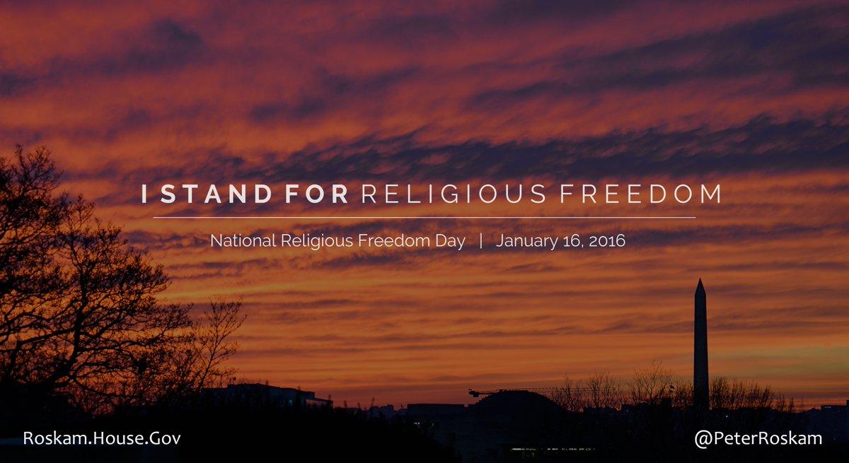 #ReligiousFreedomDay marks 230 years since Virginia passed Thomas Jefferson's statute to protect religious freedom