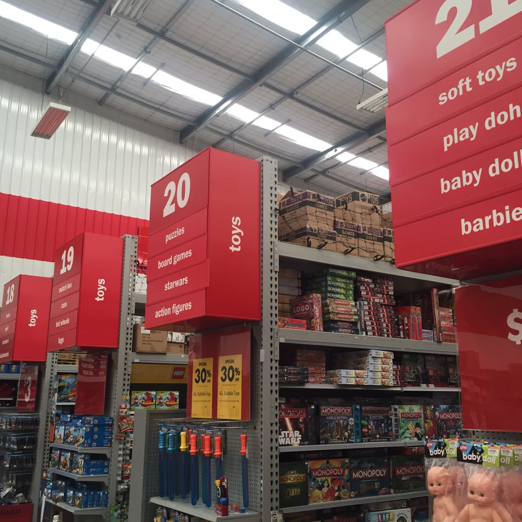 "No more ""Girl Toys"" or ""Boy Toys"" aisles at @thewarehousenz."