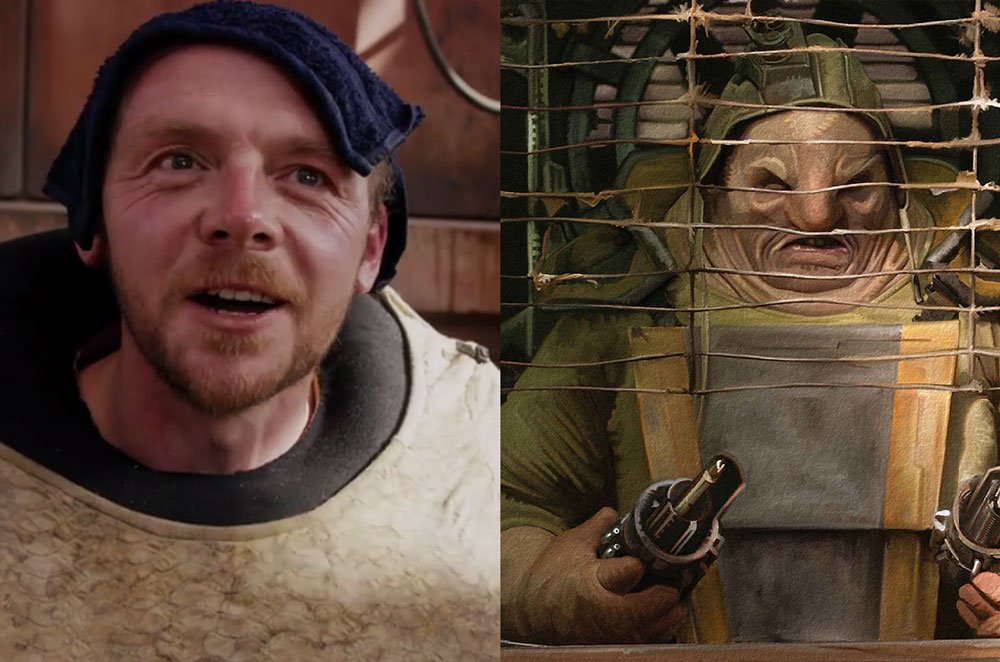 Simon Pegg on His 'Star Wars' Journey from 'A New Hope' to 'The Force Awakens'