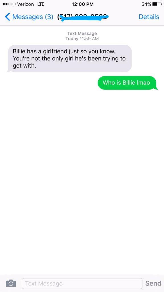 Alexis Clark  - smh billie twitter @alexissclarkk