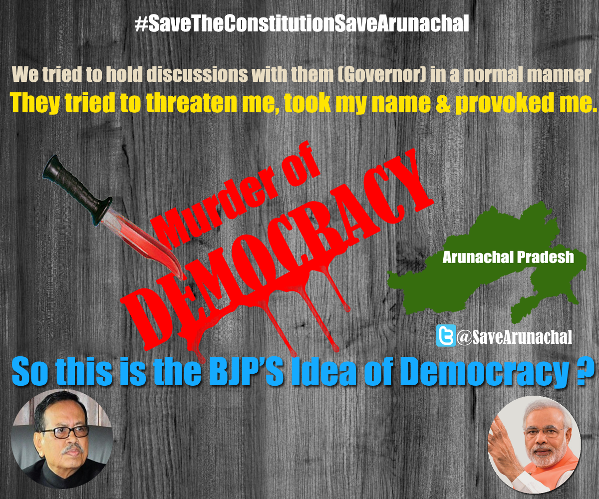 We tried to hold discussions with them in a normal manner.They tried to threaten me & provoked me. @INCIndia